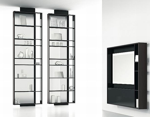 raumteilerregal bookless von interl bke m bel steinle. Black Bedroom Furniture Sets. Home Design Ideas